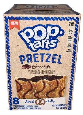 Kelloggs Poptarts Pretzel Chocolate