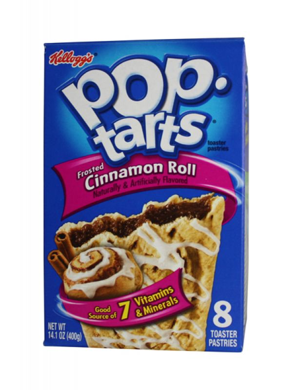 Kelloggs Poptarts Frosted Cinnamon Roll