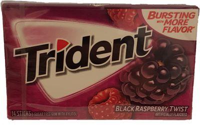 Trident Black Raspberry Twist Kaugummi