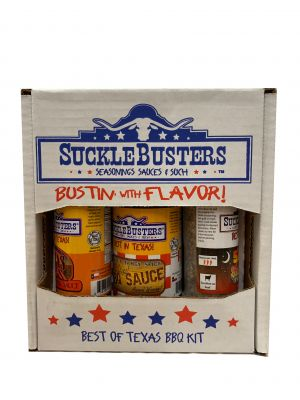 Sucklebusters Best of Texas BBQ Kit