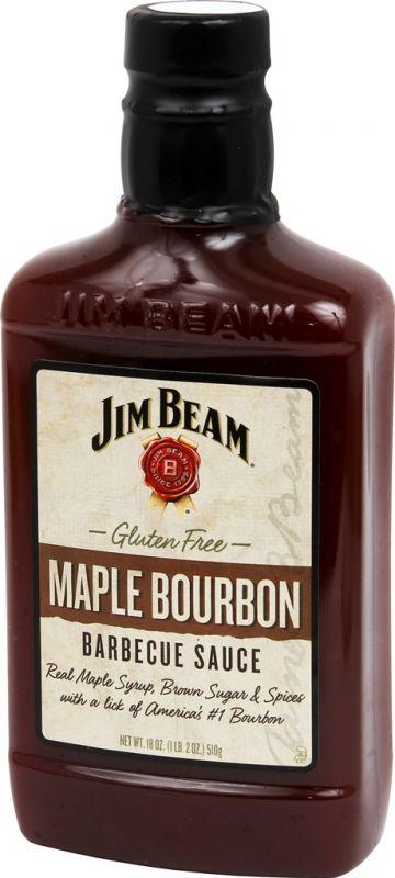 Jim Beam BBQ Sauce Maple Bourbon
