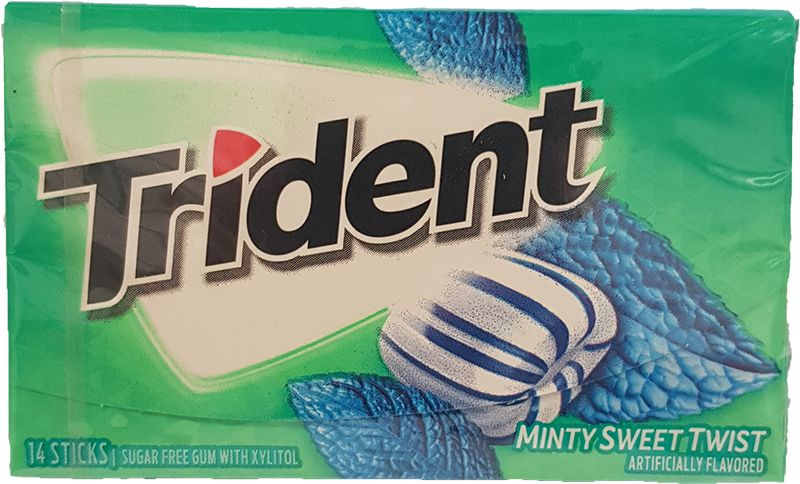 Trident Minty Sweet Twist Kaugummi