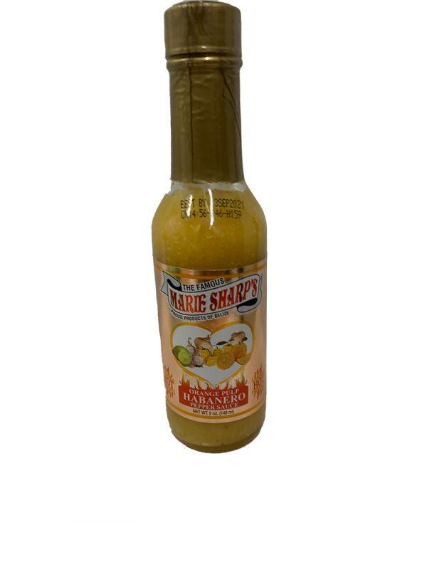 Marie Sharp's Orange Pulp Habanero Pepper Sauce, 148ml