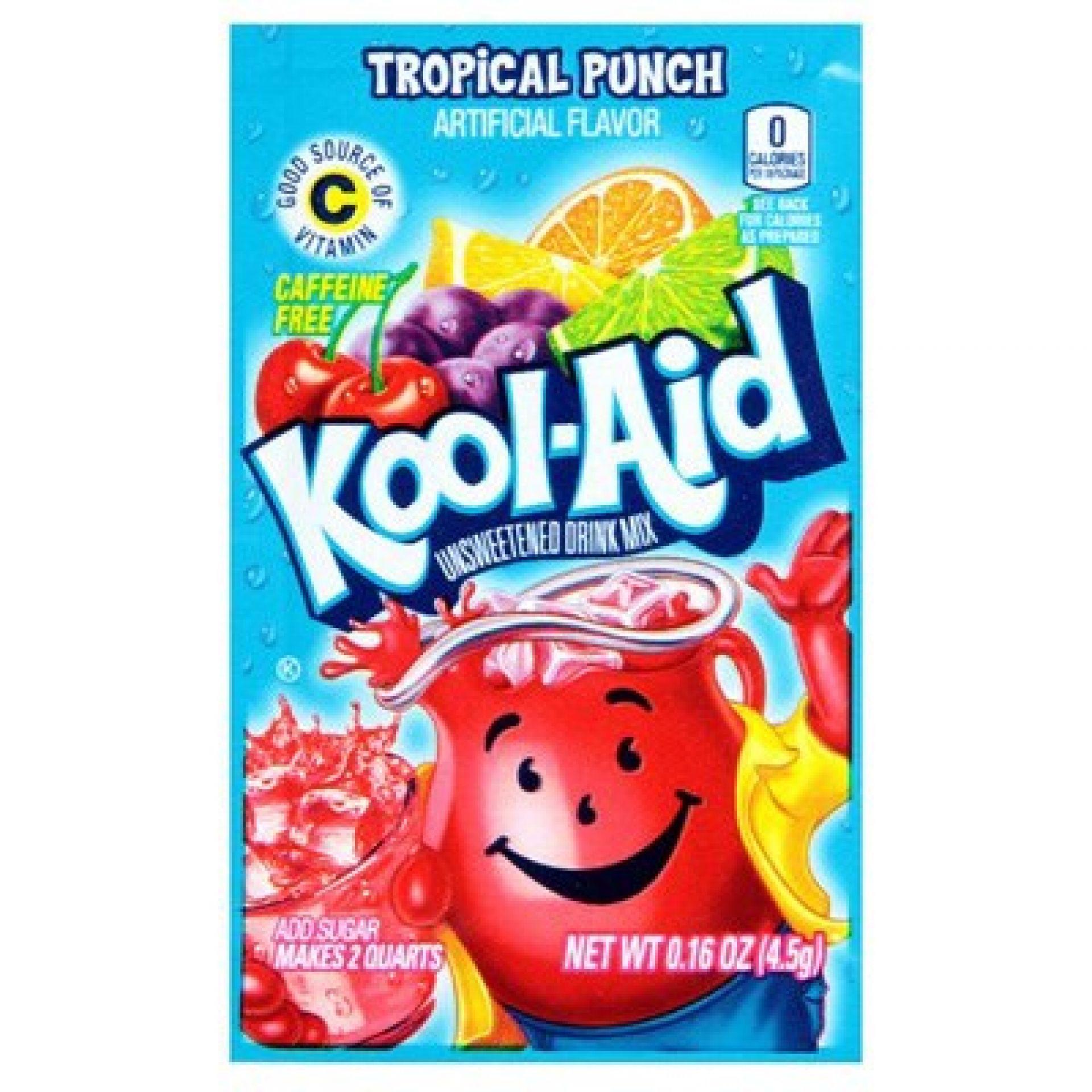Kool Aid Instant Drink- Tropical Punch - Tüten