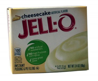 Jell-O Cheesecake Pudding